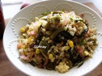 簡單炒出清爽又粒粒分明的炒飯-酸菜炒飯