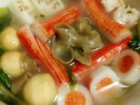 火鍋蕎麥海鮮麵