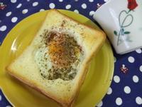 10分鐘早餐─香草太陽蛋
