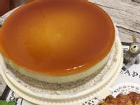 水晶布丁芝麻蛋糕