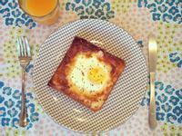 簡易 早餐   太陽蛋 吐司