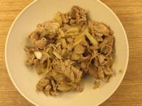 五香香料炒豬肉片