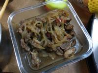 洋蔥燒牛肉