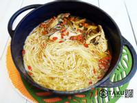 麻油烏魚麵線