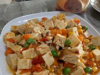 素食麻婆豆腐