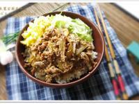 [照燒洋蔥豬肉蓋飯]簡單快速家常菜