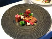 爐烤法式小羔羊襯紅黎麥燉飯