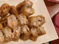 芋香油條蝦捲