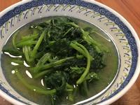 地瓜葉味噌湯