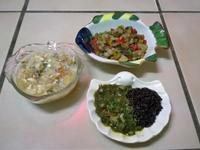 鮮食🐾納豆蒟蒻絲 彩椒炒肉 菠菜泥菇飯