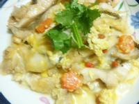 麻油芙蓉魚(福壽純芝麻油玩料理)