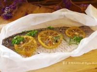 饗瘦美味-蜂蜜檸檬香草紙包烤鱸魚菲力