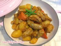 韓式辣醬炆豬肋條