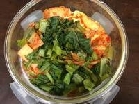 素食㊣電鍋版泡菜豆腐鍋
