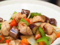 雞肉黑醋炒秋野菜 - 月薪嬌妻