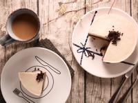 六吋伯爵茶巧克力雙色慕斯蛋糕 - 免烤箱
