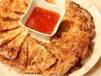 【東煮】去泰國點不到的月亮蝦餅 Shrimp pancake