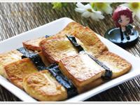 [乾燒海苔豆腐]簡易家常菜