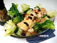 麻油雞福袋【福壽純芝麻油玩料理】