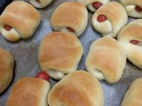 熱狗麵包 麵包機做法
