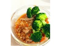 泡菜豬肉養身粥