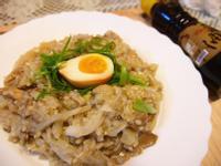 舞菇麻油雞燉飯【福壽純芝麻油玩料理】