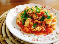 滑嫩番茄蛋一超簡單,家常料理