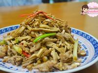 豆干炒肉絲│源珍醬油│頂級純釀醬油禮盒