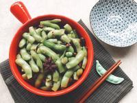 涼拌五香毛豆莢
