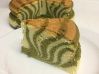 斑馬抹茶乳酪蛋糕(無麩質)