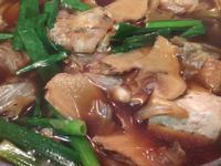 薑薑薑醬滷高麗菜板豆腐雞蛋油豆腐(鐵鑄鍋