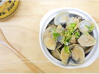 【日式胡麻蛤蜊】電鍋蒸蛤蜊料理
