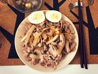 新手快速做輕食-日式洋蔥豬肉飯