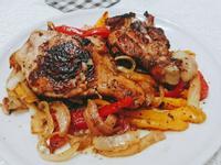 [雞肉料理]簡易烤雞腿法士達