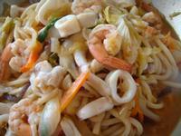 海鮮炒烏龍麵