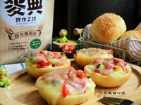 培根玉米起士漢堡寶【麥典麵包專用粉】