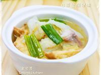 白菜豆腐煲湯