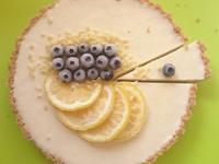 甜檸檬藍莓優格生乳酪蛋糕