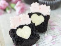 【Tomiz小食堂】愛心切面可可杯子蛋糕