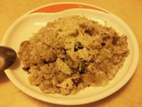 松露雞肉野菇燉飯