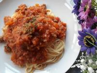 蕃茄肉醬意大利麵