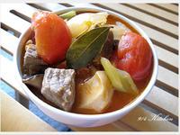 【深夜食堂】馬鈴薯番茄燉牛肉西芹