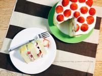 電子鍋做草莓蛋糕