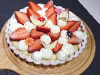 【Tomiz小食堂】草莓卡士達鮮奶油塔