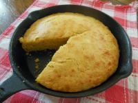鑄鐵鍋玉米麵包