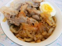 日式和風洋蔥豬肉丼飯