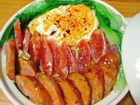 羊小窩廚房-臘腸版黯然銷魂飯