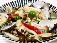 蒜香鮮菇蛤蜊