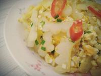 苦瓜炒鹹蛋【豆豆愛的料理】