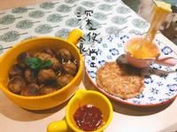 瑞典肉丸馬鈴薯餅(牽絲起士沾醬🧀)